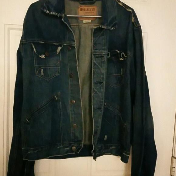 d973ec8fc7 Hollister Other - Mens  Denim Jacket